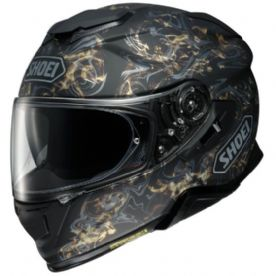 Shoei GT Air 2 Conjure TC-9 Black Gold Helmet